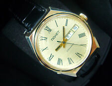 POLET POLJOT 23 Jewels  BIG TOP/NEW CONDITION Vintage Russian USSR Mens WATCH