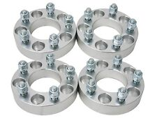 "(4pc) 2"" (1"" per side) 5X100 to 5x112 Wheel Spacers Adapters M12x1.5 studs"