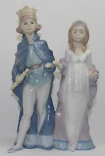"""LLADRO """"MEDIEVAL MAJESTY"""" #6116 FIGURINE ~ KING AND QUEEN ~ MINT W/BOX ~ ~"""