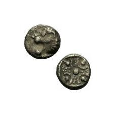 Milet Ionien Tetartemorion 500 B.C. Löwe Protome Quadratum Incusum SNG Kayhan -