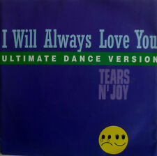 "7"" 1993 CV WHITNEY HOUSTON MINT- !! TEARS N´ JOY : I Will Always Love You"