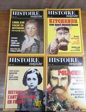 Genre HISTORIA : LOT DE 20 revues HISTOIRE MAGAZINE 1981-1982-1983 (Nos 17 à 36)