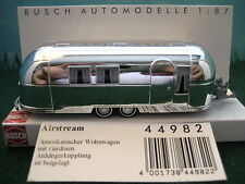 Busch (HO 1:87)  Airstream Trailer #44982