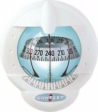 NAUTOS 51003 - CONTEST 101 COMPASS -VERTICAL MOUNT-WHITE COMPASS WITH WHITE CARD