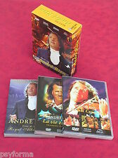 Coffret 3 DVD Le Best of D' ANDRE RIEU / La vie est belle - Live DVD ...etc TBE