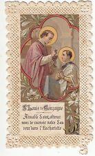 RELIGION / IMAGE PIEUSE / CANIVET /  SAINT LOUIS DE GONZAGUE