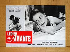 LES AMANTS fotobusta poster Jeanne Moreau Jean-Marc Bory Louis Malle Amanti Love