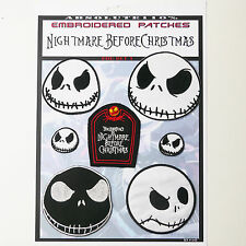 The nightmare before christmas correctifs-thermocollants patch mega set # 42-free post