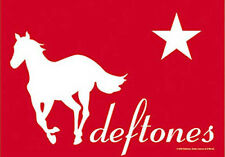 DEFTONES PONY MUSIC  FLAGS WALL HANGER MADE IN ITALY LICENSED SILK SCREENED