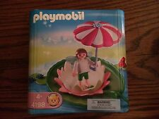 Playmobil 4198 Fairy Garden Lily Pad Fairy and Frog NEW