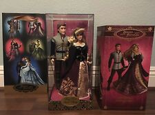 Disney Fairytale Designer Aurora & Prince Phillip Dolls Limited Edition Minr Dmg