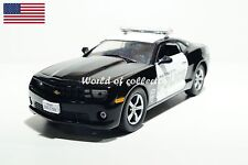 Chevrolet Camaro SS 2009 Police USA Scale 1 43 DeAgostini Diecast model car
