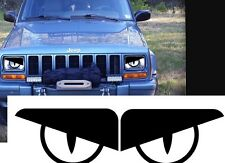 1989 Jeep Wrangler YJ, XJ Comanche Cherokee C👀L SNAKE Angry Eyes Decal BAD BOY!