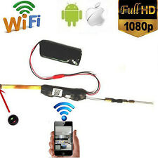 Wireless HD 1080P Mini DIY Module WIFI Camera Motion Detect Digital Video Cam