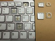 SONY VAIO VGN-NW SERIES REPLACEMENT LAPTOP KEY,CLIP,RUBBER UK LAYOUT WHITE ...