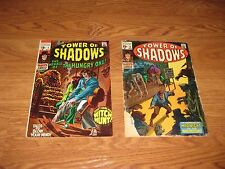 TOWER OF SHADOWS COMIC BOOK ISSUE #  2  &  3  V HORROR NEAL ADAMS   BARRY SMITH