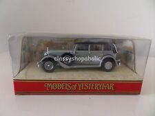 Matchbox Models of Yesteryear Y-40 1931 MERCEDES BENZ 770 - Boxed