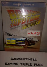 BACK TO THE FUTURE TRILOGY 30TH ANNIVERSARY STEELBOOK BLU-RAY + DIG HD (LE)