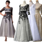 WOMENS VINTAGE 40s 50s LONG PARTY PROM COCKTAIL WEDDING EVENING BALL GOWNS DRESS