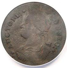 1787 Draped Bust Left Connecticut Colonial Copper Coin - Anacs Vf35 Details!