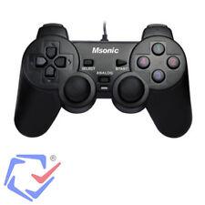 Msonic 3329BK PC PS Controller Gioco Gamepad USB Computer Videogiochi Giocatori