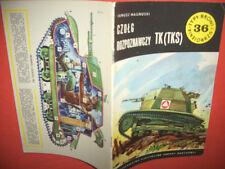 Typy Broni Profileheft TBiU 36, Tankette TK (TKS)  GUT!