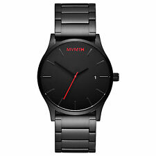 ORIGINAL MVMT Watches Black Face Black Stainless Steel Men's Watch Man Watch NEW