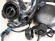 SGE 400/3 Gas Mask with Drinking Option/Canteen & CBRN & NBC Filter, Exp 12/2021