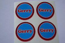 """12  Gerry CROWN GREEN STICKERS  1""""   LAWN BOWLS FLATGREEN  AND INDOOR BOWLS"""