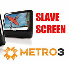 SLAVE SCREEN ie SECOND SCREEN for Philips Portable In Car DVD Player
