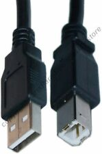 "Lot100 6""inch short USB 2.0 A~B AB Printer/Device Adapter Cable/Cord/Wire {BLACK"
