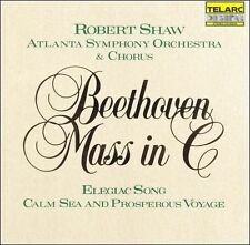 Beethoven: Mass in C, Elegiac Song, & Calm Sea and Prosperous Voyage Shaw/ASO/C