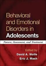 Behavioral and Emotional Disorders in Adolescents: Nature, Assessment,-ExLibrary