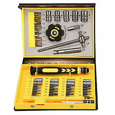 Protable 47 in1 Premium Screwdriver Set Repair Tool & Box Kit For Phone Computer