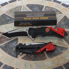 Tac Force Spring Asst. Tactical Rescue Fire Dept. Outdoor Folding Pocket Knife
