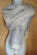 PAISLEY PASHMINA Womens Viscose Scarf Shawl Ladies Christmas Gift Warm Scarves