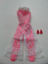 #3Q/VINTAGE BARBIE JUMP INTO LACE/#1823/JUMPSUIT/JAPAN SPIKE SHOES!