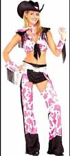 Women's Cowgirl Western Fancy Dress Costume