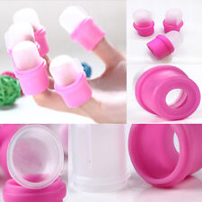10pcs Wearable Soakers Cap Soak DIY Polish Acrylic UV Nail Gel Remover Tip Tool