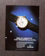 [GCG]  M629 - Advertising Pubblicità -1986- OMEGA, PER GLI ESIGENTI