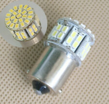 2x Car 1156 BA15S 382 P21W White 50 SMD LED Tail Brake Signal Light Bulb 12V