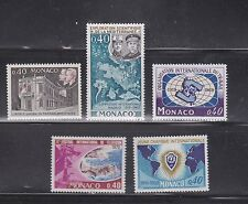 MONACO STAMPS 100 sets DEALER  GLASSINED 402 0915