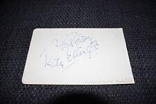 RAY ELLINGTON (+ ´85) signed Autogramm auf 10x16cm Zettel THE GOON SHOW InPerson
