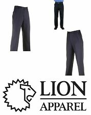 NEW MEN'S LION 0130-20 STATION WEAR PANTS TROUSERS NAVY 32  X  32 NWT