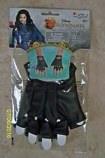 GIRLS DISNEY DESCENDANTS EVIE GLOVES COSTUME DRESS ACCESSORY DG94229