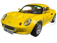 1999 LOTUS ELISE 111S YELLOW 1/18 DIECAST MODEL CAR BY SUNSTAR 1033