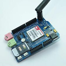 SIM900 Quad-band GSM/GPRS Shield for Arduino UNO/MEGA/Leonardo