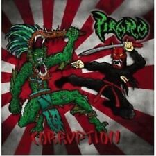 "Pirana ""Corruption""  CD [MEXICAN OLD SCHOOL THRASH METAL, Japan Release]"