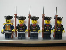 Lego PIRATES BRITISH EIC EAST INDIA COMPANY Infantry Soldiers MINIFIGS Musket