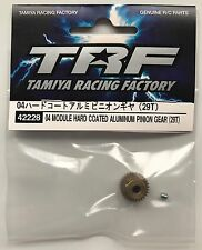 Tamiya 42228 04 Module Hard Coated Aluminum Pinion Gear (29T) (TRF416/417) NIP